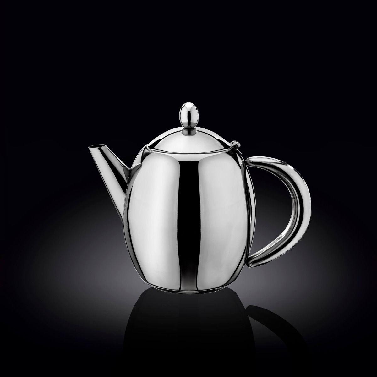Заварочный чайник Wilmax 500 мл, в цветной коробке, н/ж сталь