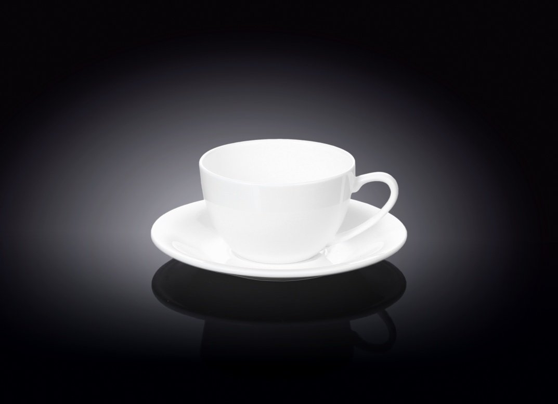 Набор Wilmax чашка для капучино и блюдце 180 мл