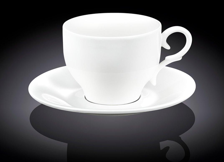 Набор чайная чашка и блюдце Wilmax 330 мл, 1 пара