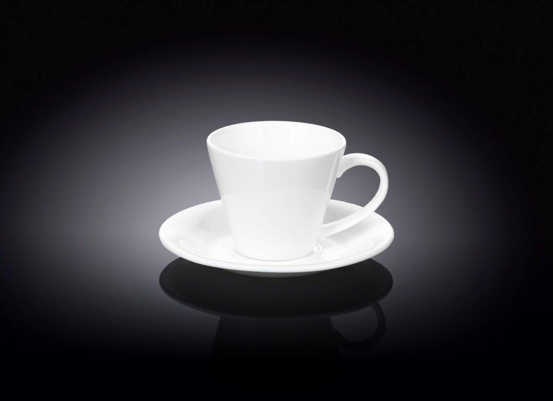 Набор: чайная чашка и блюдце Wilmax 180 мл (фирменная коробка)