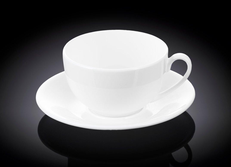 Набор чайная чашка и блюдце 300 мл Wilmax