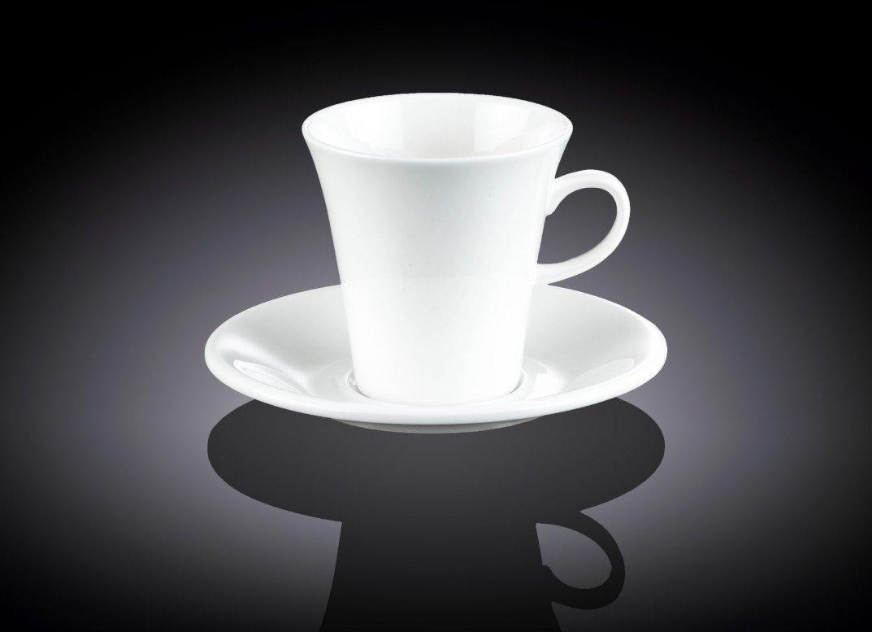Набор Wilmax чайная чашка и блюдце 210 мл