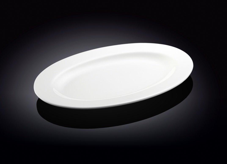 Блюдо Wilmax овальное с полями  36 см