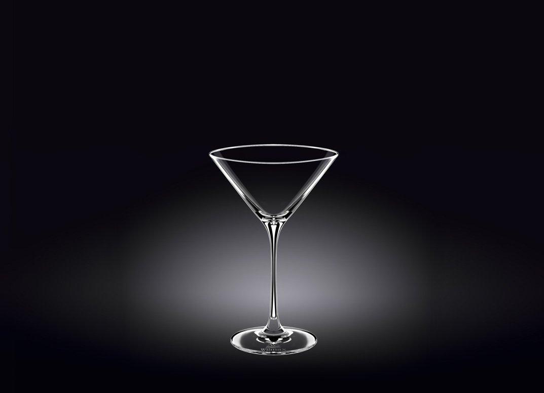 Набор бокалов Wilmax для мартини 270 мл 2 шт (фирменная коробка)