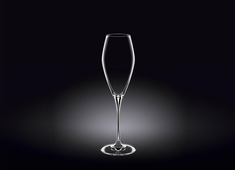 Набор бокалов Wilmax для шампанского 290 мл 2 шт (фирменная коробка)