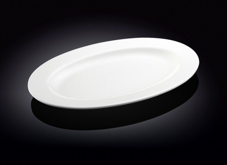 Блюдо Wilmax овальное с полями  40,5 см