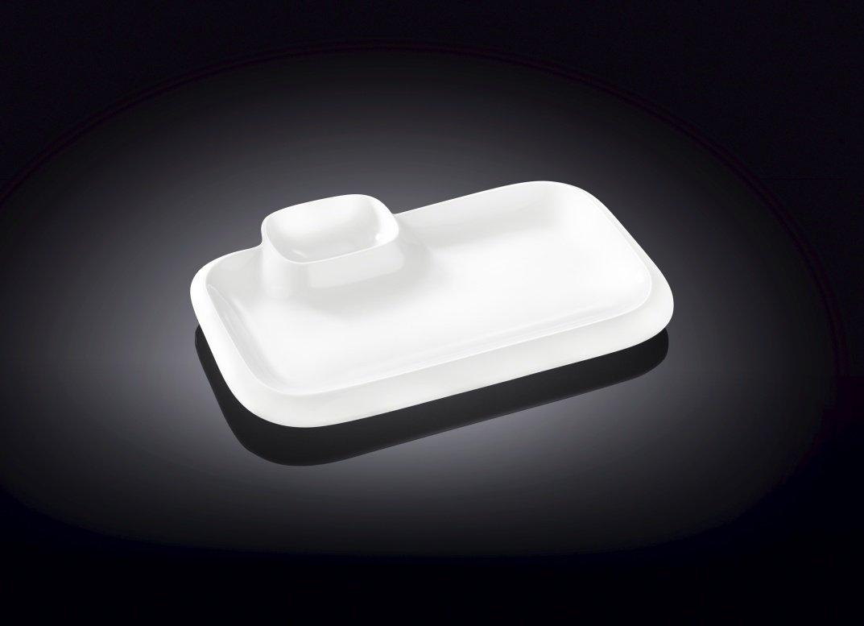 Блюдо Wilmax прямоугольное 20 см* 12 см