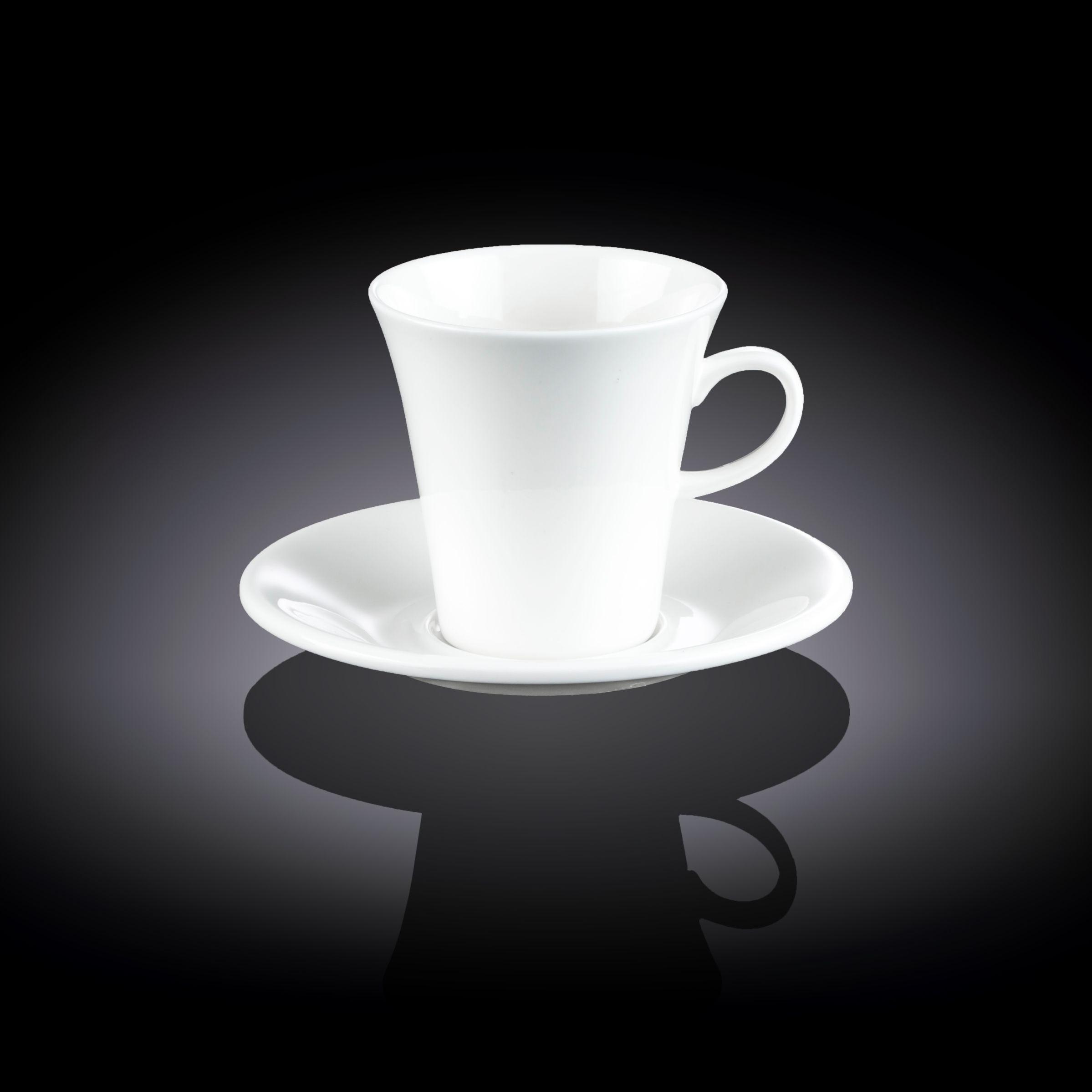 Набор: 300 мл чайная чашка & блюдце Wilmax