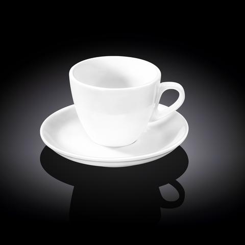 Набор чайная чашка & блюдце 300 мл фарфоровый Wilmax