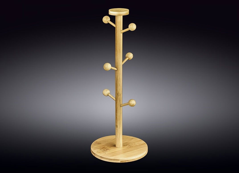 Подставка бамбуковая Wilmax для кружек 39 x 15,5 см
