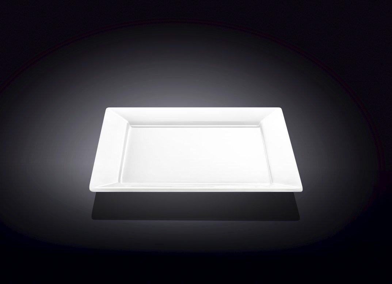 Тарелка десертная квадратная Wilmax 18,5 см