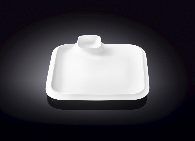 Блюдо Wilmax квадратное 20 см