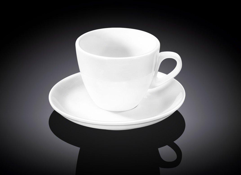 Набор чайная чашка и блюдце Wilmax 190 мл