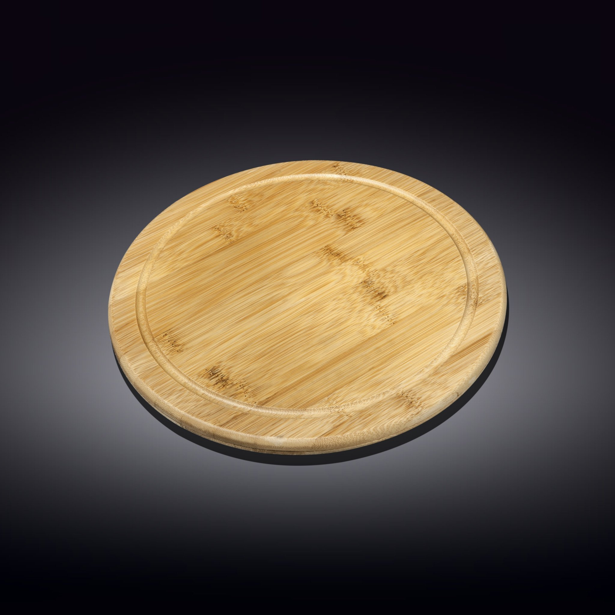 Сервировочная подставка 35.5см  Бамбук Wilmax  круглая