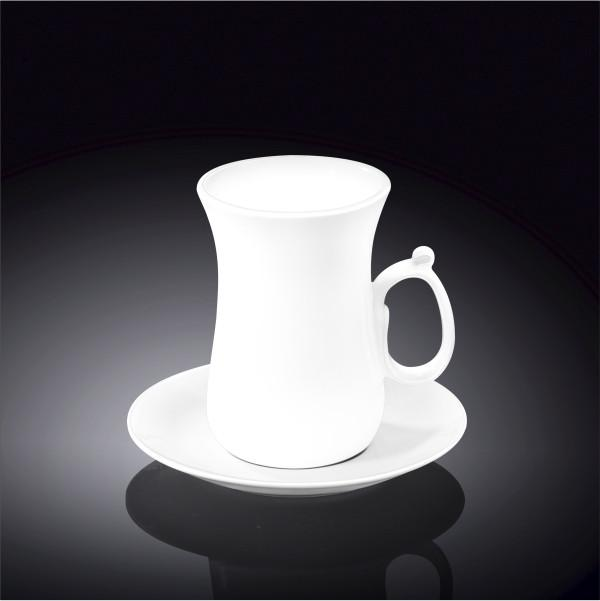 Набор чайная чашка & блюдце 120 мл Wilmax