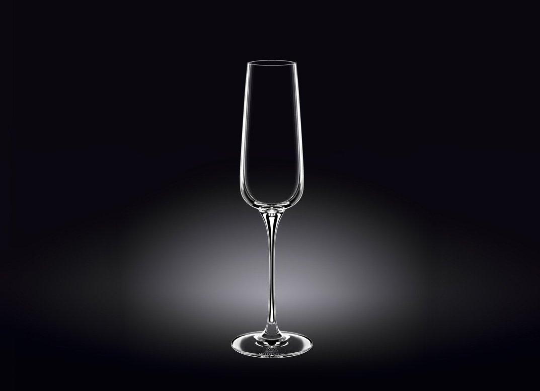 Набор бокалов Wilmax для шампанского  270 мл 2 шт (фирменная коробка)