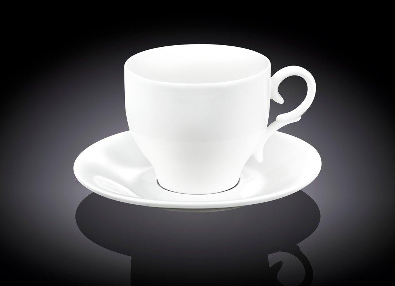 Набор чайная чашка и блюдце Wilmax 170 мл, 1 пара