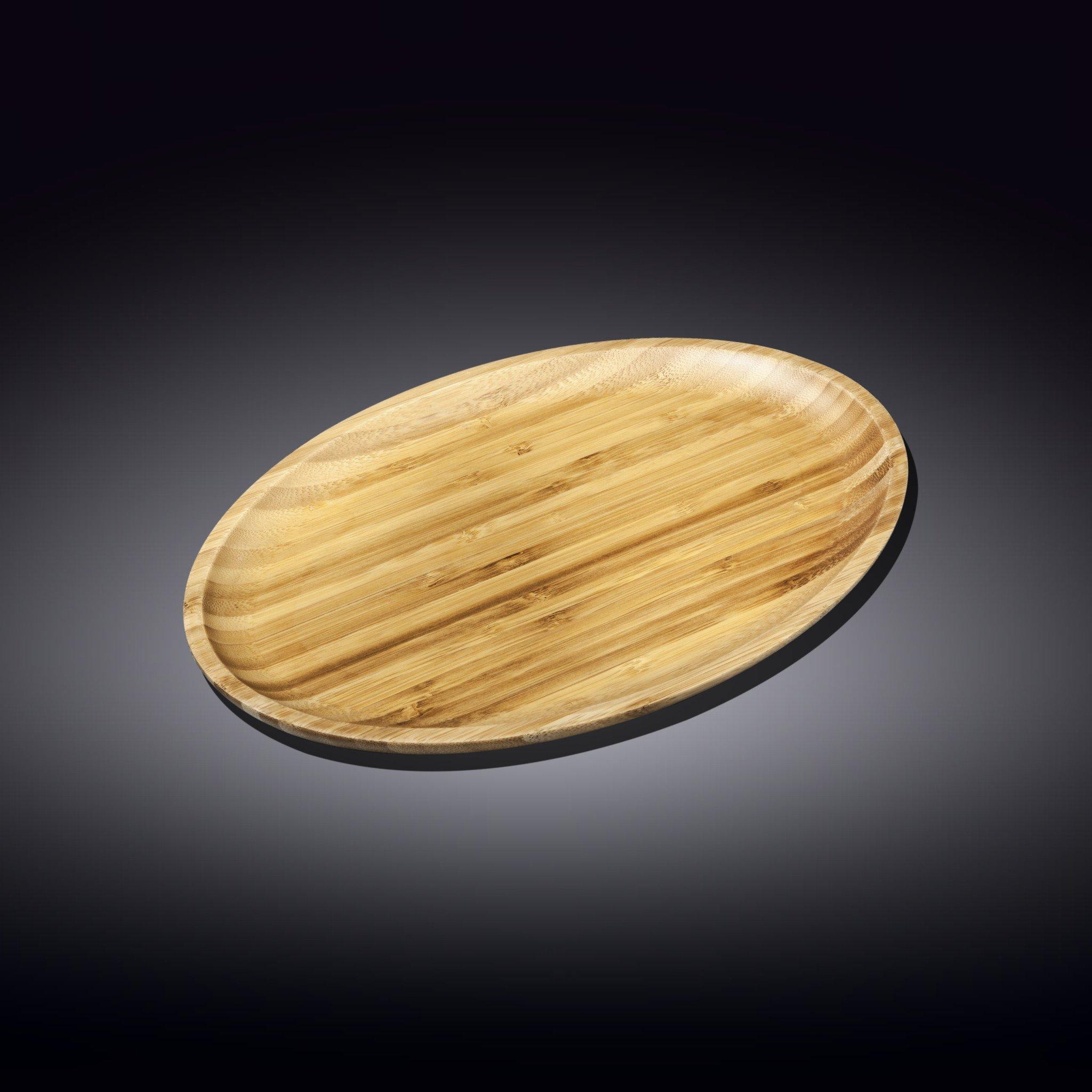 Блюдо 30.5*20.5см Бамбук Wilmax овальное