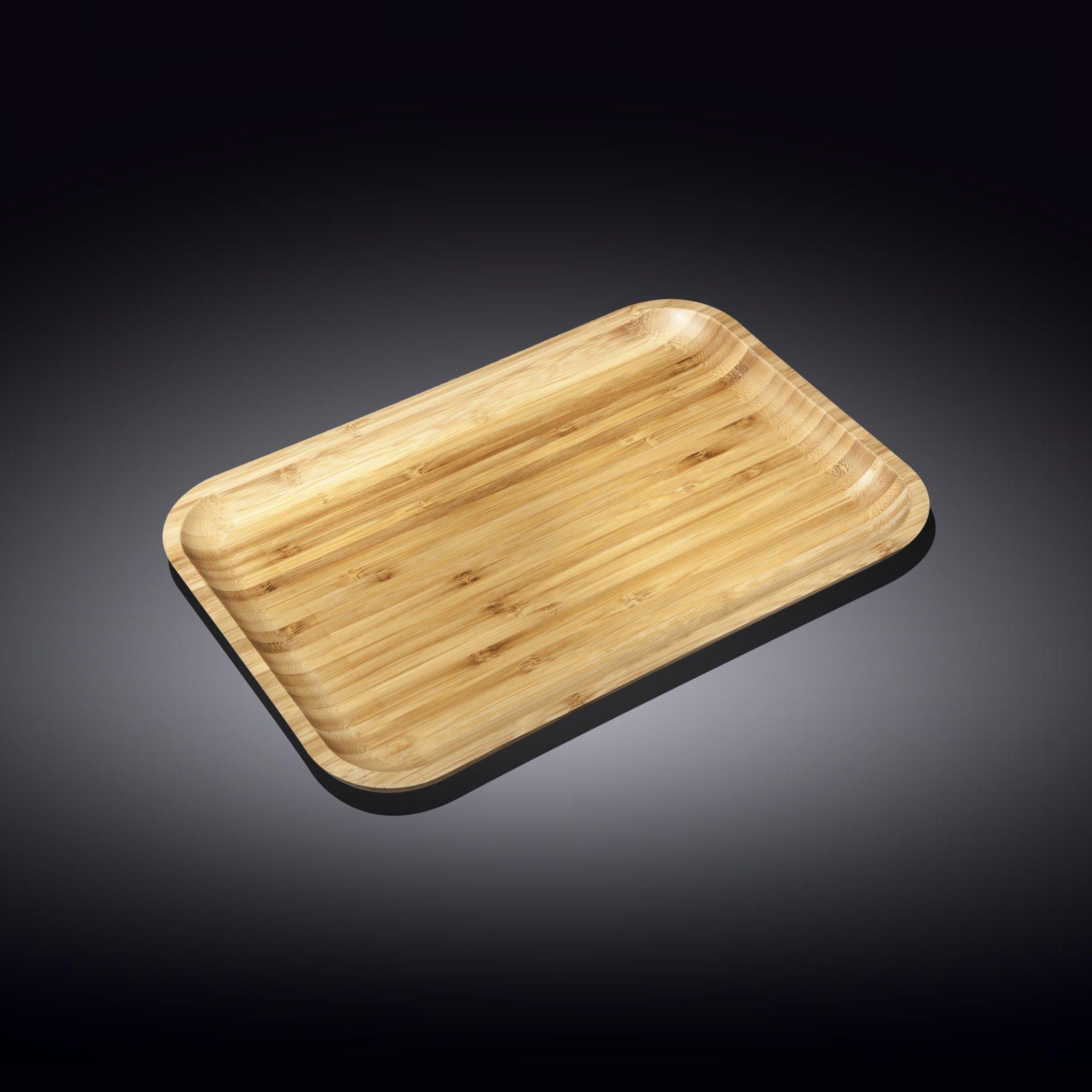 Блюдо 33*23 см  Бамбук Wilmax прямоугольное