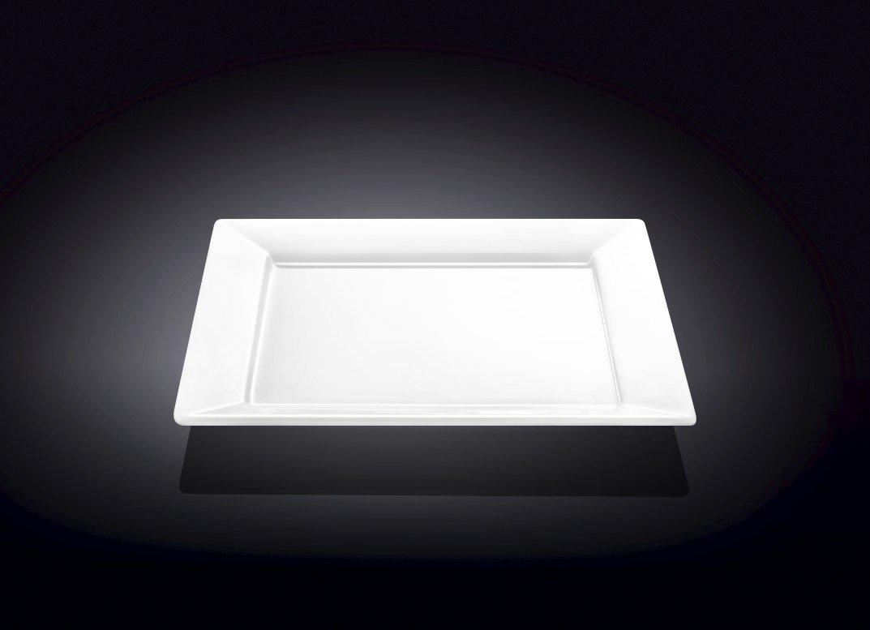 Тарелка обеденная квадратная Wilmax 25 см