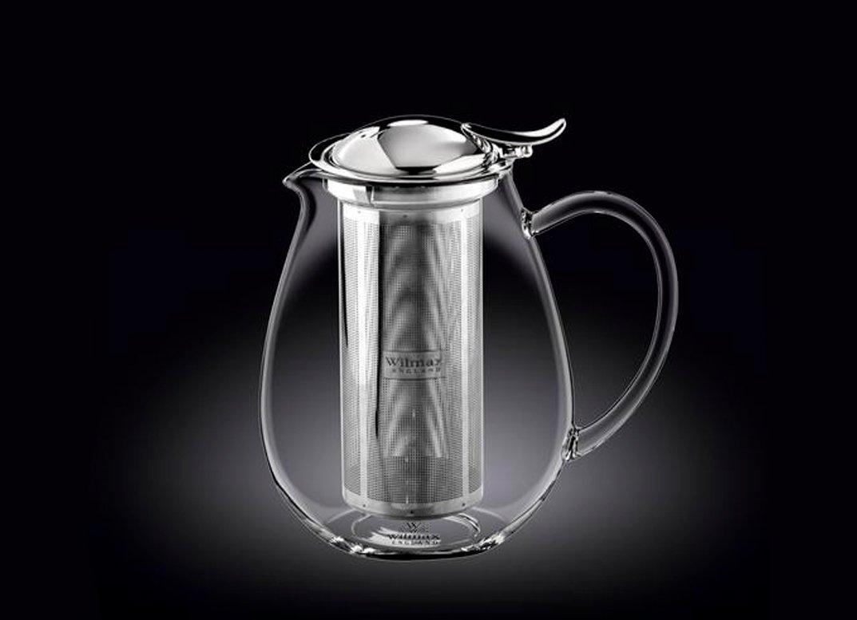 Чайник заварочный 850 мл Thermo Wilmax Нержавеющий фильтр