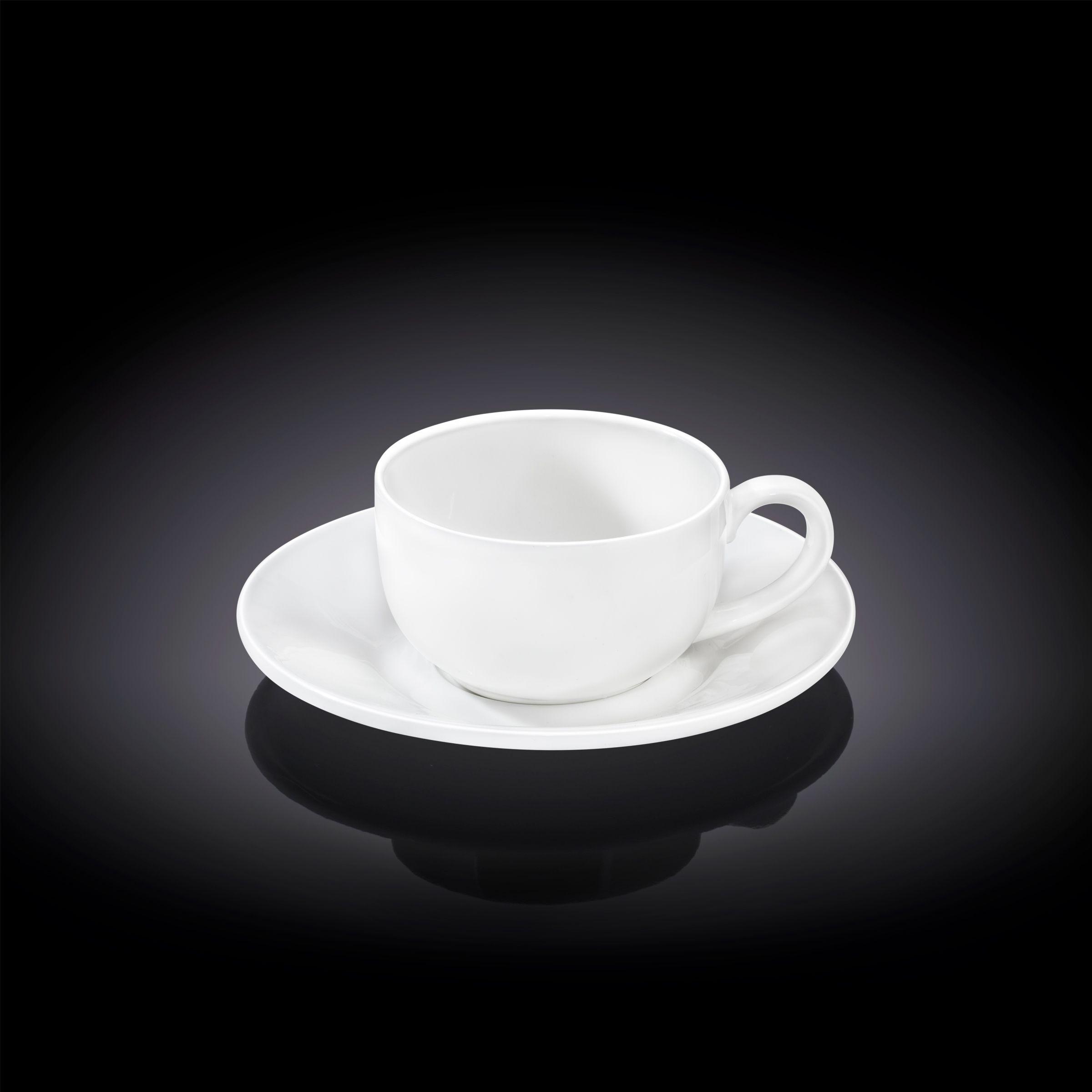 Набор чашка для кофе & блюдце 100 мл. Wilmax в инд. уп.