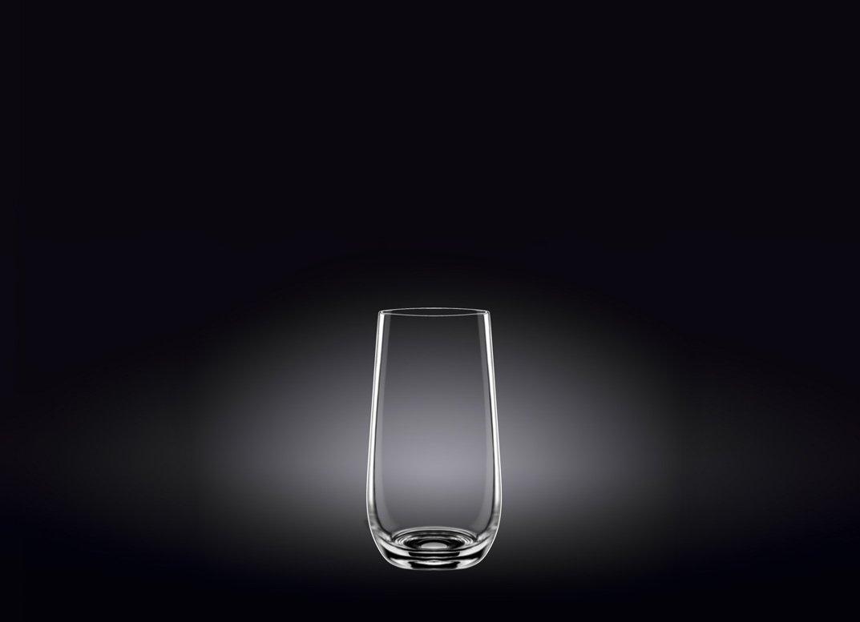 Набор стаканов Wilmax высокие 500 мл 2 шт (фирменная коробка)