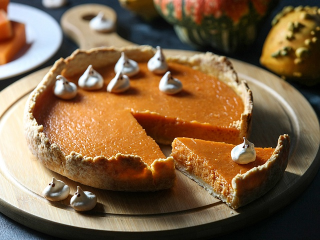 Американский тыквенный пирог Pumpkin pie